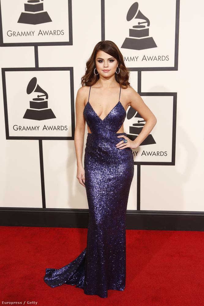 Selena Gomez a Grammyn volt ilyen vadító.