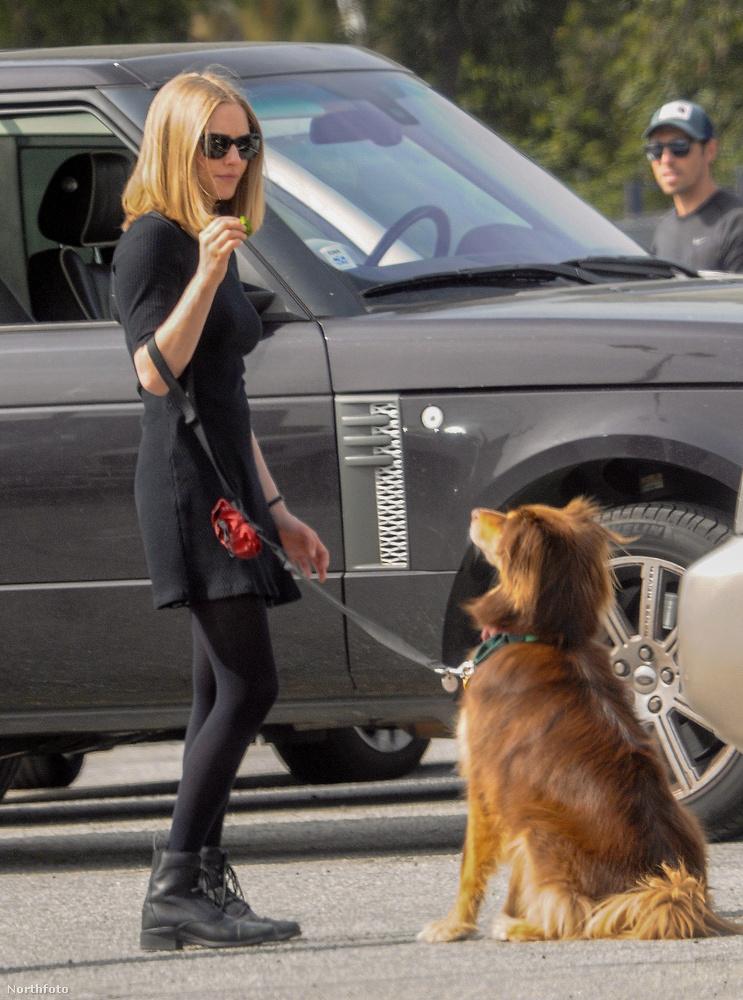 Amanda Seyfried éppen a Last Word című filmet forgatja Los Angelesben
