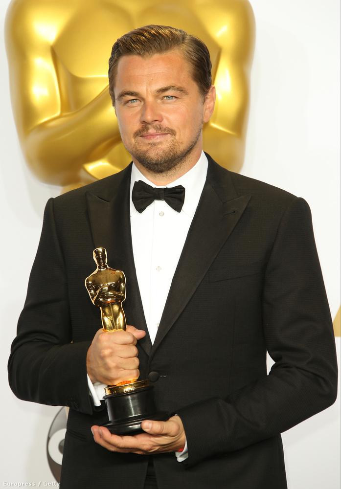 A másik óriási mérföldkő Leonardo DiCaprio szobra volt