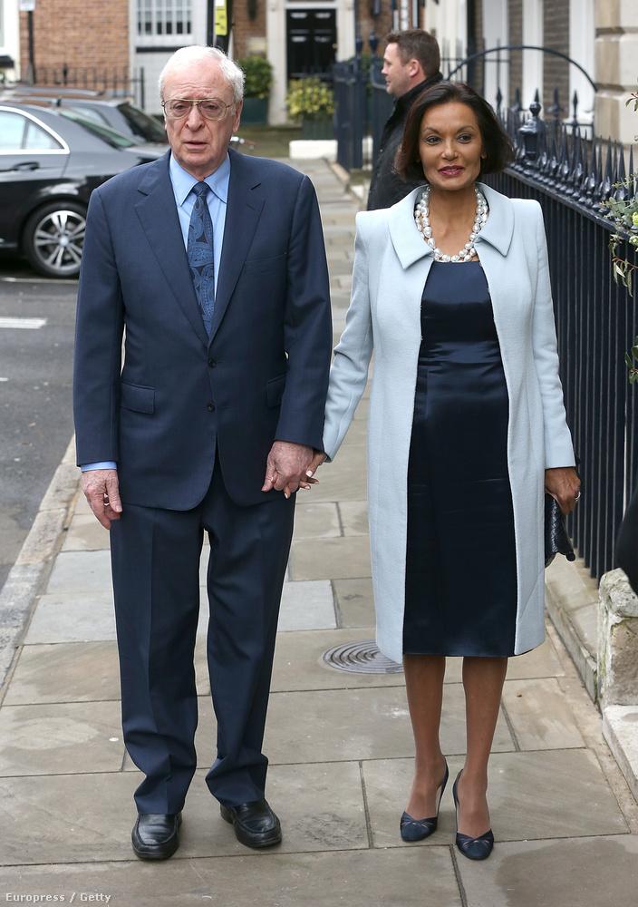 Michael Caine és a felesége, Shakira Caine
