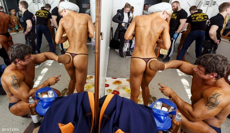 Az oroszországi Krasznojarszkban tartottak egy másik rangos testépítő versenyt