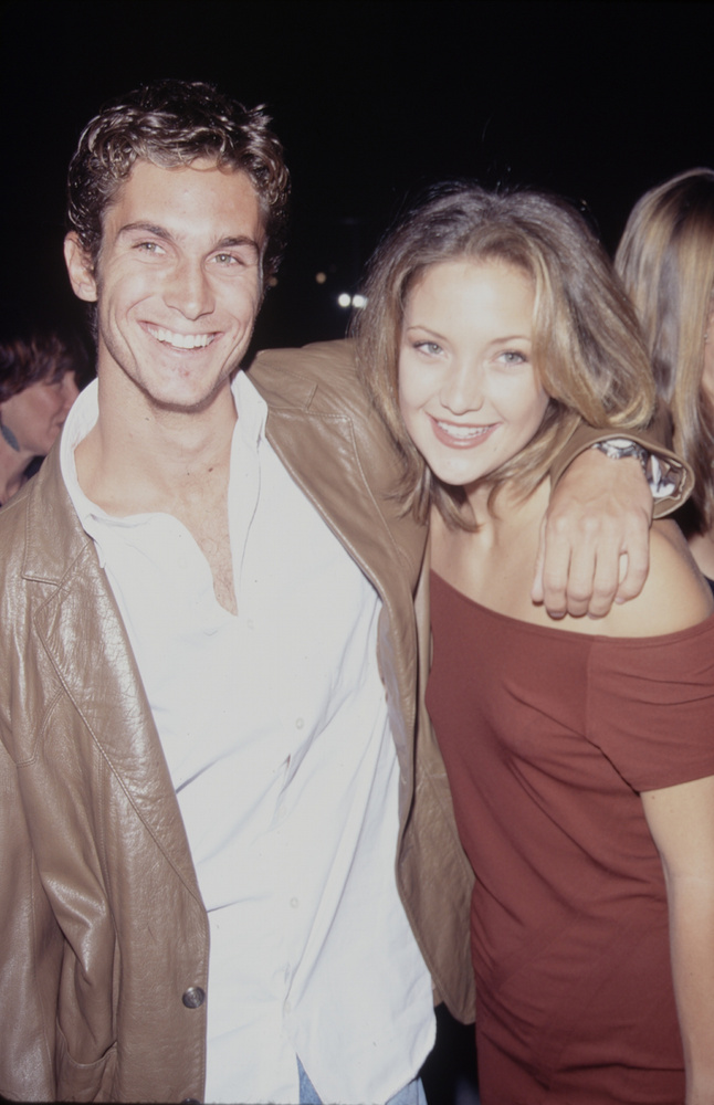 Kate Hudson öccse, a szintén színész Oliver Hudson