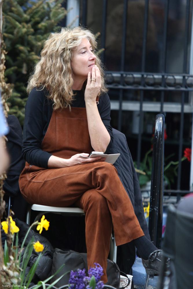 Yen Din Ka Kissa - ez a címe annak a filmnek, amit Emma Thompson éppen New Yorkban forgat.