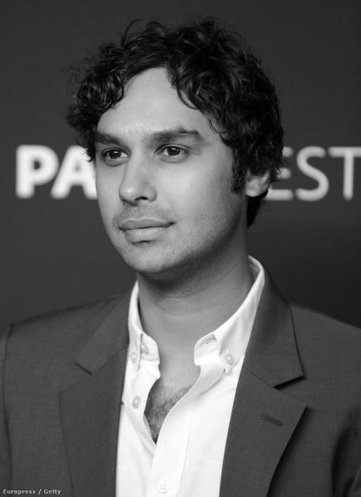 Kunal Nayyar azt állította, karaktere, Raj jelenleg két nővel randizik egyszerre