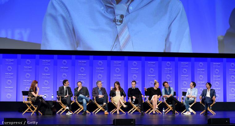 Szerda este a PaleyFest vendége volt az Agymenők, vagyis a Big Bang Theory teljes stábja