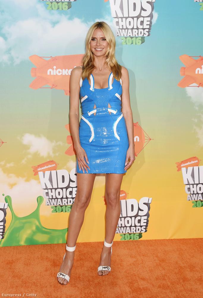 Körképünket Heidi Klum szupermodellel zárjuk.