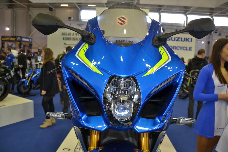 A Suzuki GSX-R1000 Concept-et először Milánóban mutatták meg