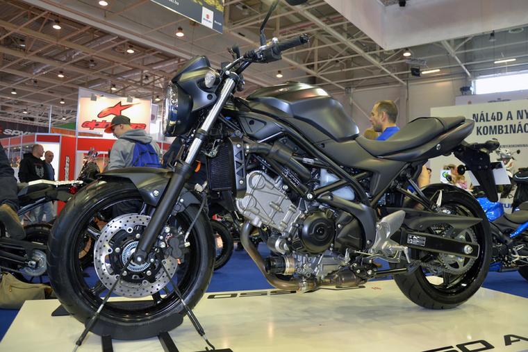 Az idei év egyik legjobban várt újdonsága az új Suzuki SV650