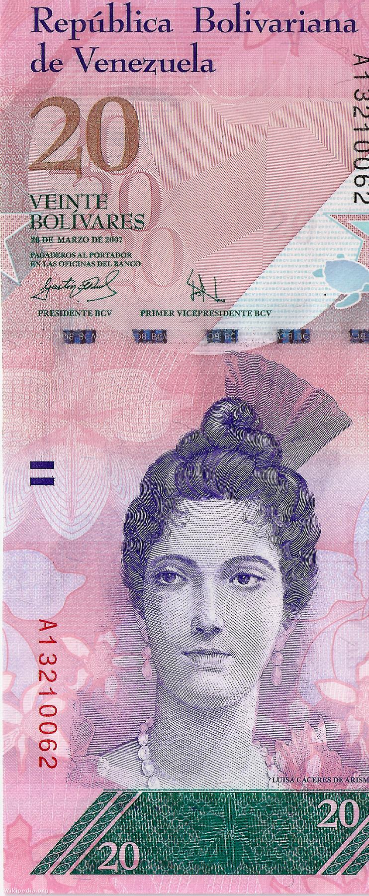 Venezuelában függőlegesen kell nézni a bankjegyeket, ami szintén egy különlegesség, de ezúttal valami más lesz a megfejtés, amit ön valószínűleg sejt is már