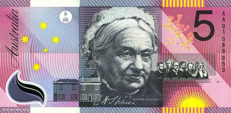 Egy ausztrál ötdolláros