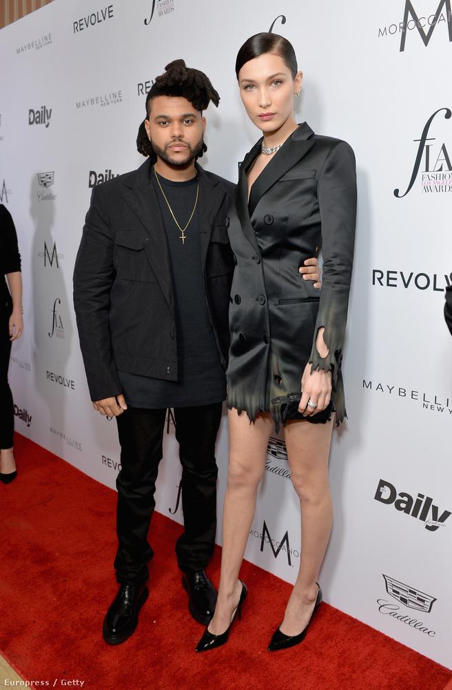 Bella Hadid és a The Weeknd
