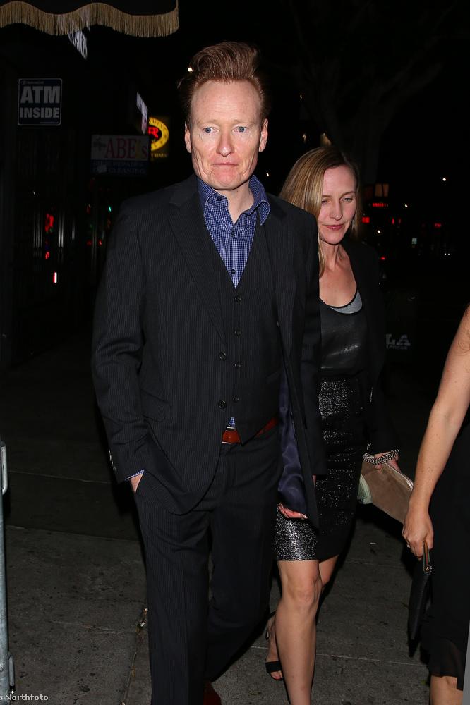 Jó, Conan O'Brien haját egyenesen az eseményre építették.