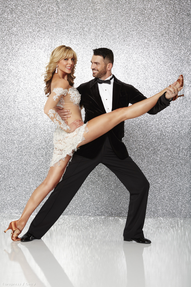 Most pedig Dancing With The Stars egyik celebje
