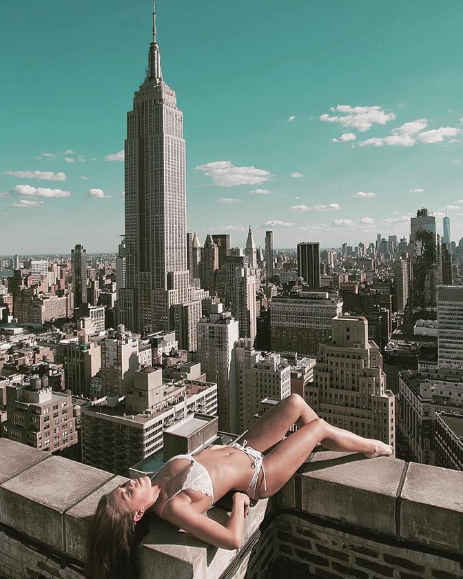 """A sorozat a """"Beauty And NYC"""" nevet kapta, és a fotós instáján lehet nyomon követni."""