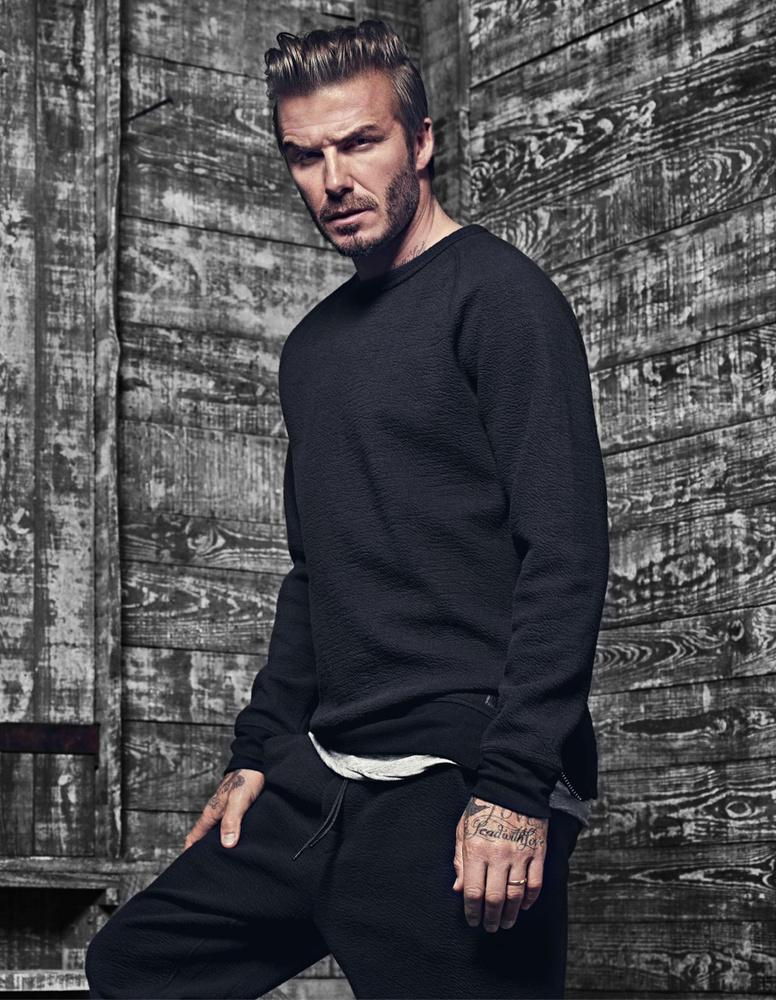 David Beckham sportoló-modell-polihisztort tekinthették meg.