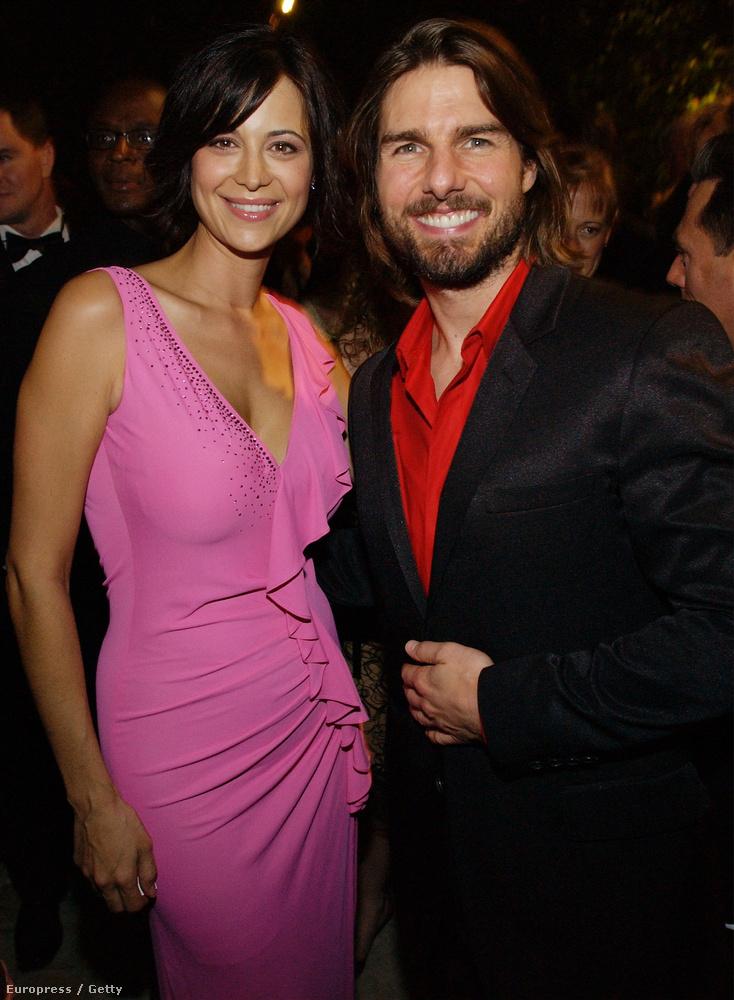 Mint minden feltörekvő színész-szcientológusnak, neki is van Tom Cruise-zal közös képe.