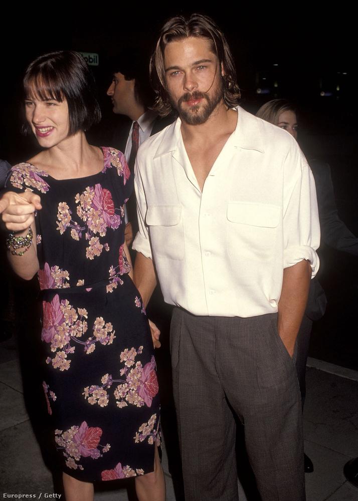 Brad Pittet Juliette Lewis próbálta behálózni, amikor még jártak