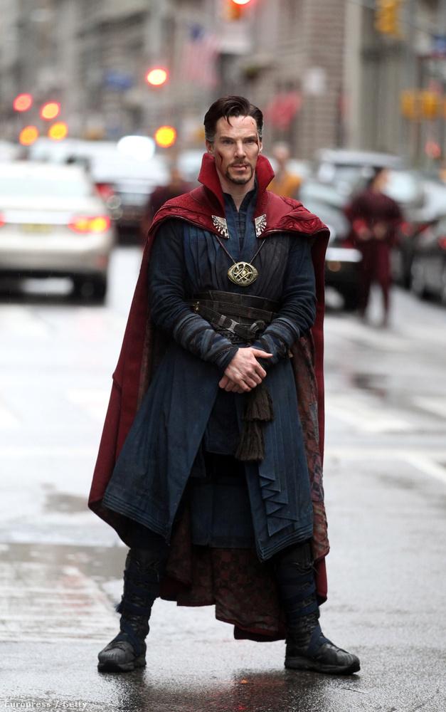 Végre megérkeztek az első képek Benedict Cumberbatchről, mint Doktor Strange