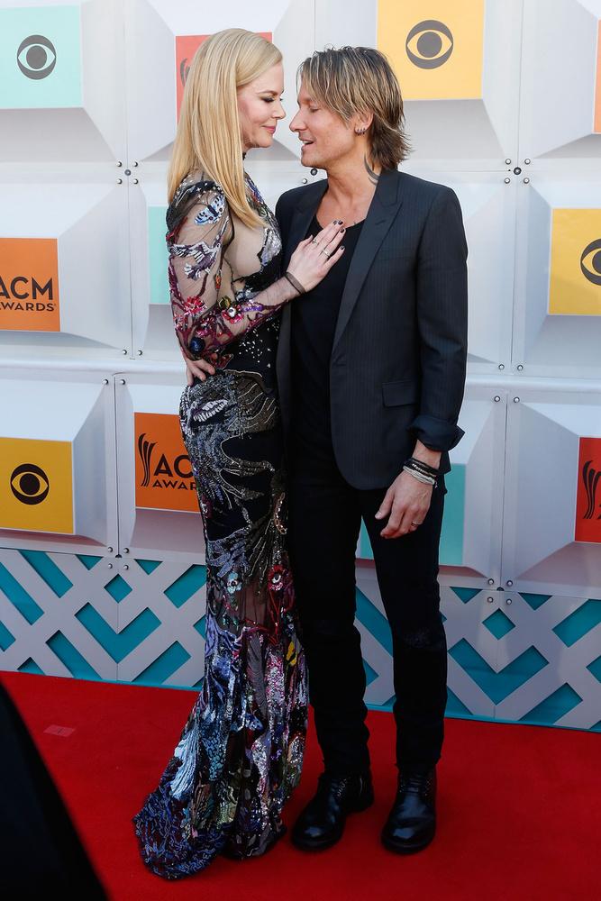 A Country Music Awards-on kettejük közül Keith Urban volt a főszereplő, akit annyira nem érdekelt ez az egész felhajtás