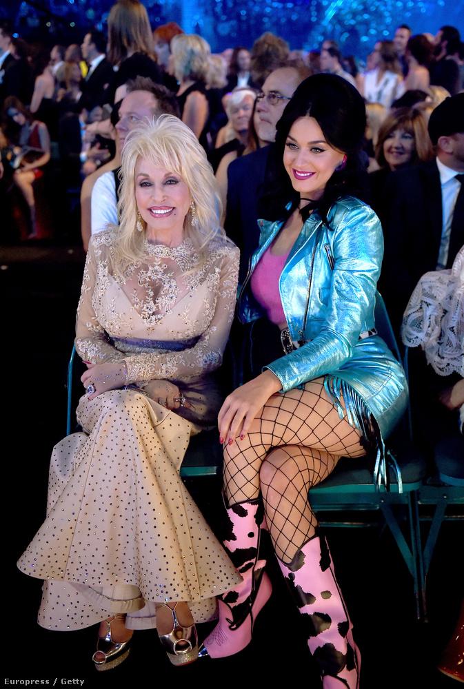 Na de ki múlhatná felül Dolly Partont? Minden részletet érdemes megfigyelni, a cipőtalpától a csillogós szöveten át, egészen a melleit a helyükön tartó hálóig.