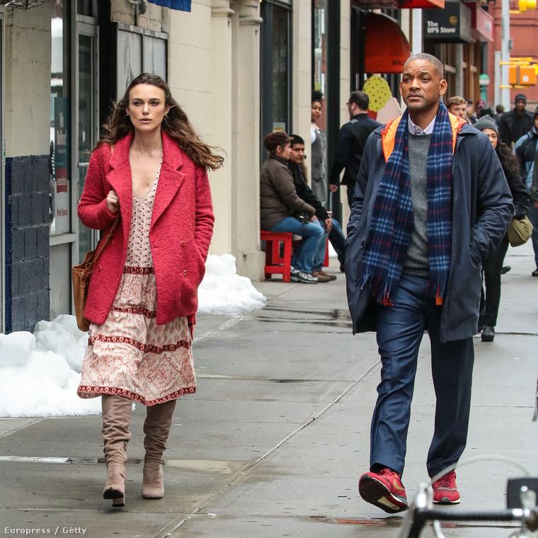Keira Knightley és Will Smith ugyanazt a filmet forgatják.