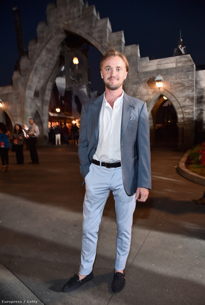 Ezt a bulit még Draco Malfoy (Tom Felton) se tudta elcseszni.