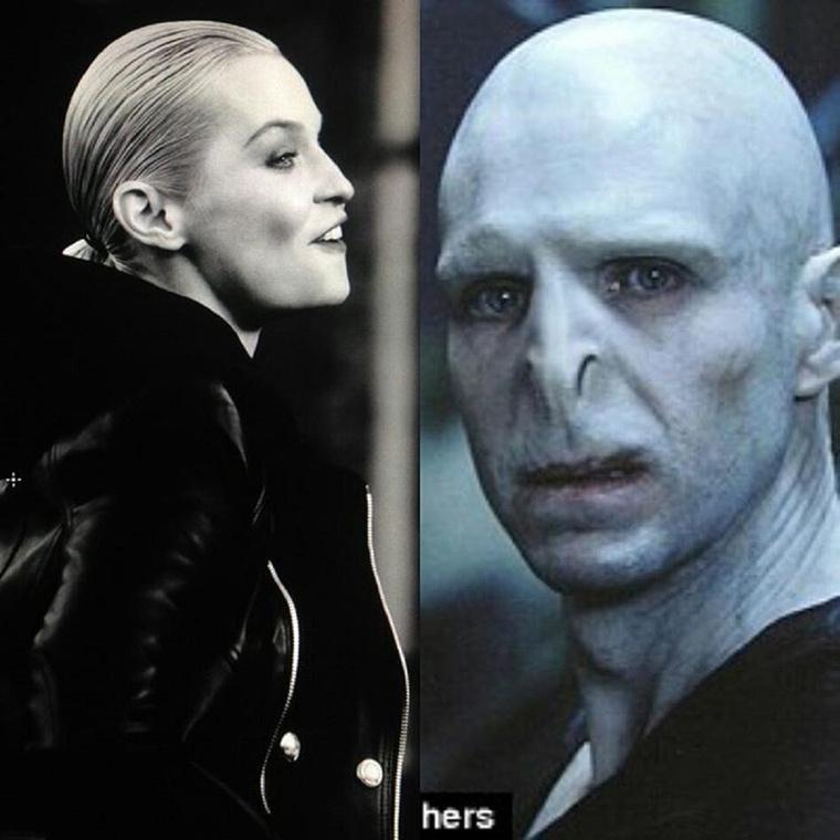 Mekkora ikertornyok:DDLilu rakta ki a képet, mikor rájött mennyi hasonlóság van közte és Voldemort között