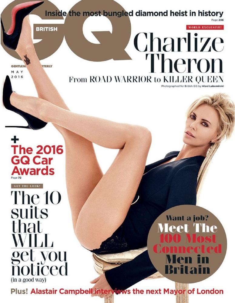 Úgy nézze ezt a címlapot, hogy Charlize Theron 40 éves
