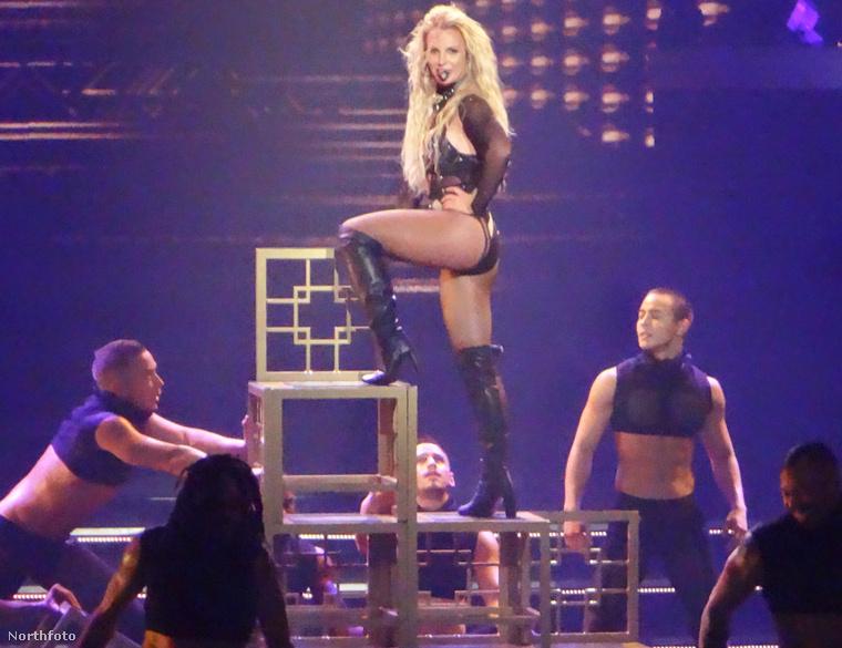 Britney Spears Las Vegas koronázatlan úrnője.