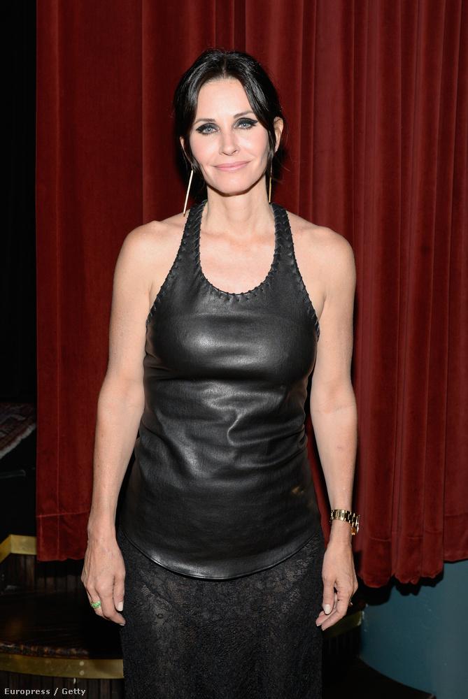 Courtney Cox 40 éves korában szülte meg David Arquette-tel közös gyerekét, Coco Riley-t