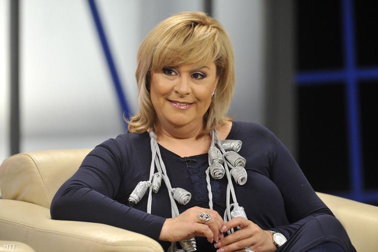 Szulák Andrea 43 évesen szült először, lánya, Rozina 2007-ben született.