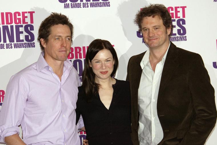 A 2004-es premier, Renée Zellweger már barnán, vékonyabban