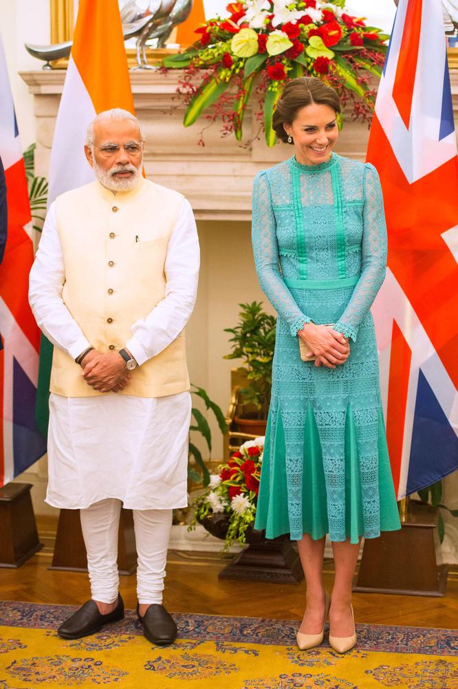 Az indiai miniszterelnökkel