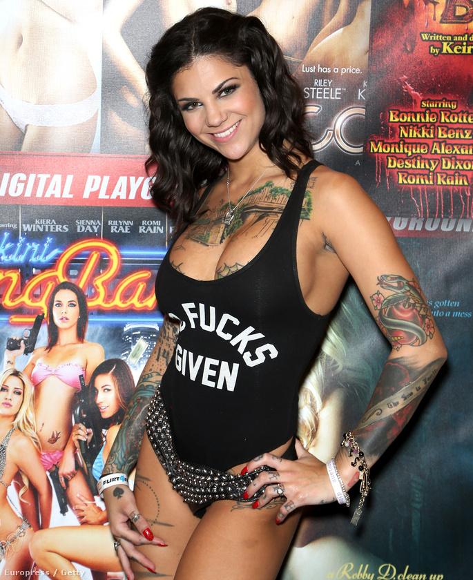 Bonnie Rotten is olyan maradandót alkotott az iparban, mint a tetoválótű az ő testén.