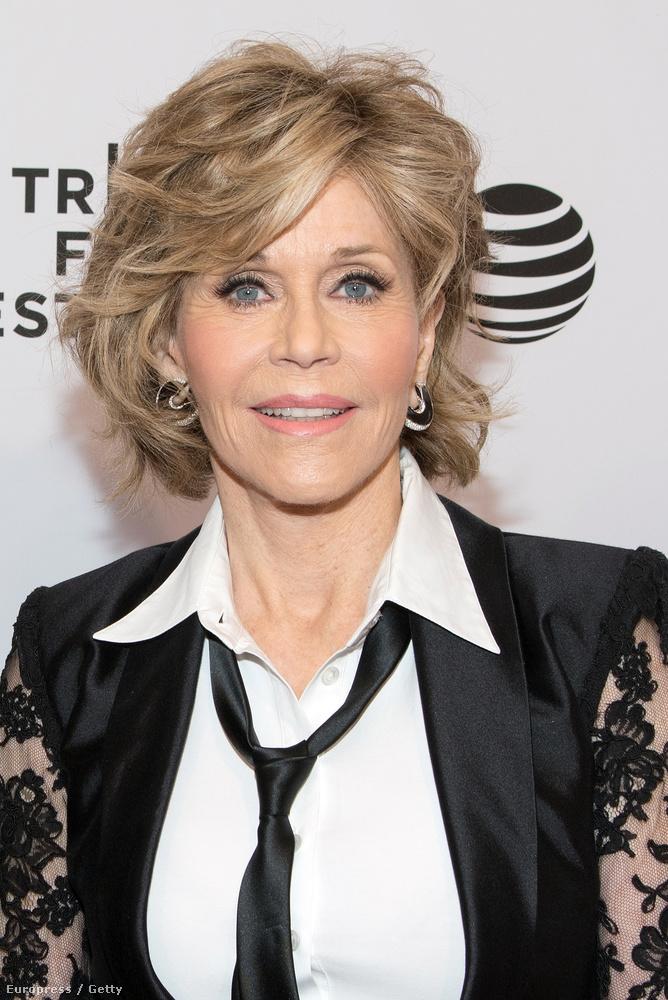 Fonda a Tribeca Film Fesztivál gálavacsorájára ment el
