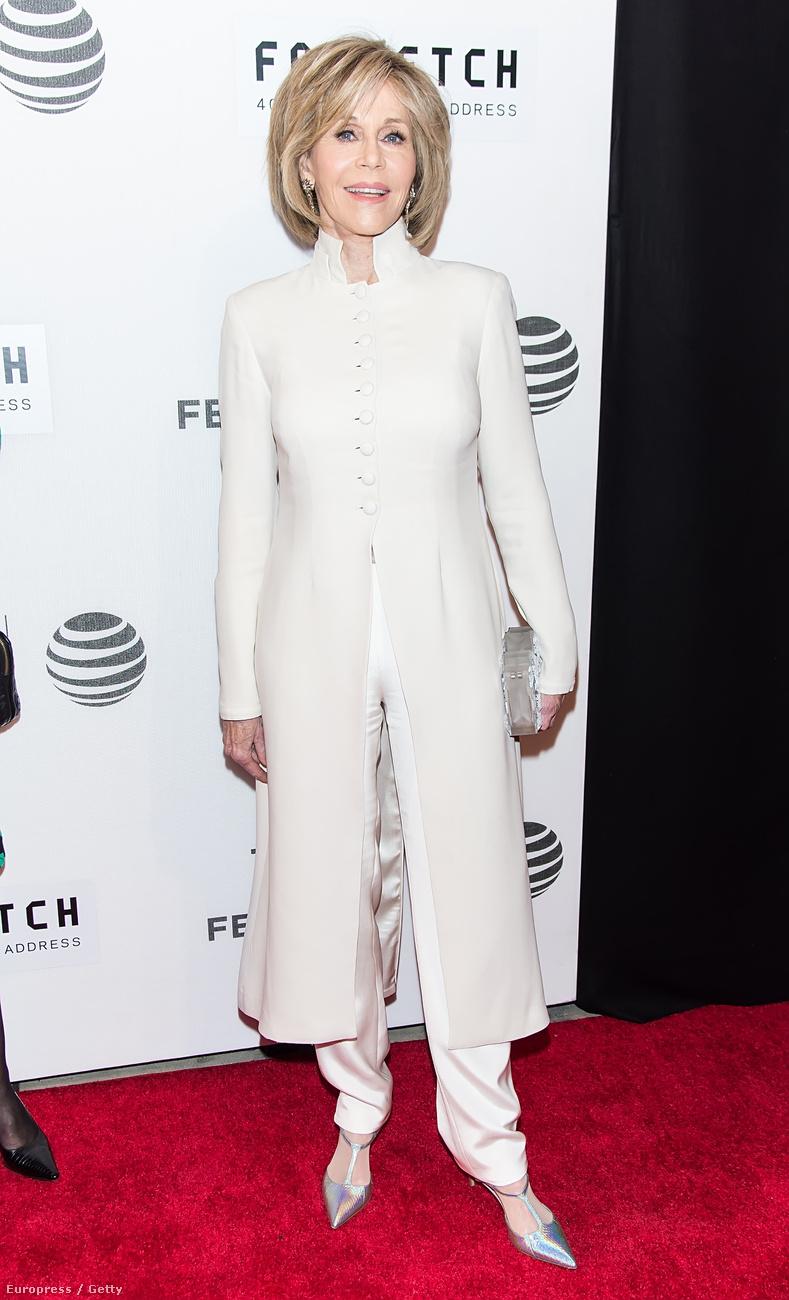 Egy nappal korábban Jane Fonda hasonlóan csinos volt