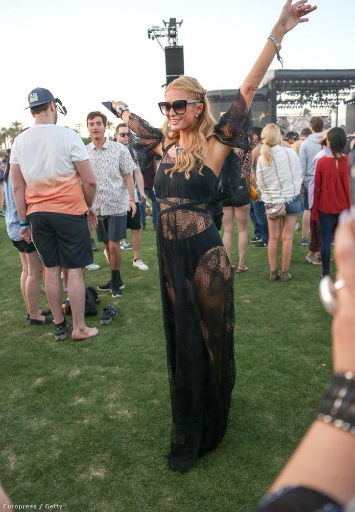 Paris Hilton meg nagyon örül, hogy újra itt lehet