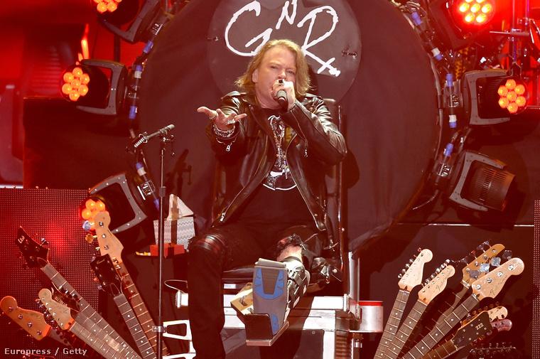 A Guns N' Roses rendes újraösszeállására évtizedeket kellett várni, de megtörtént