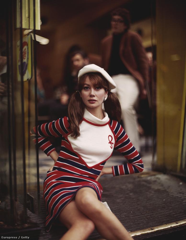 1968, a modell, akinek fájt a veséje.