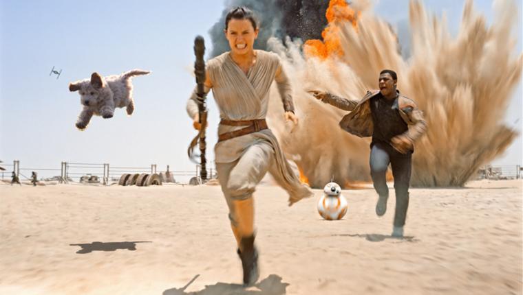 És egyébként is pontosan beleillene a Star Warsba