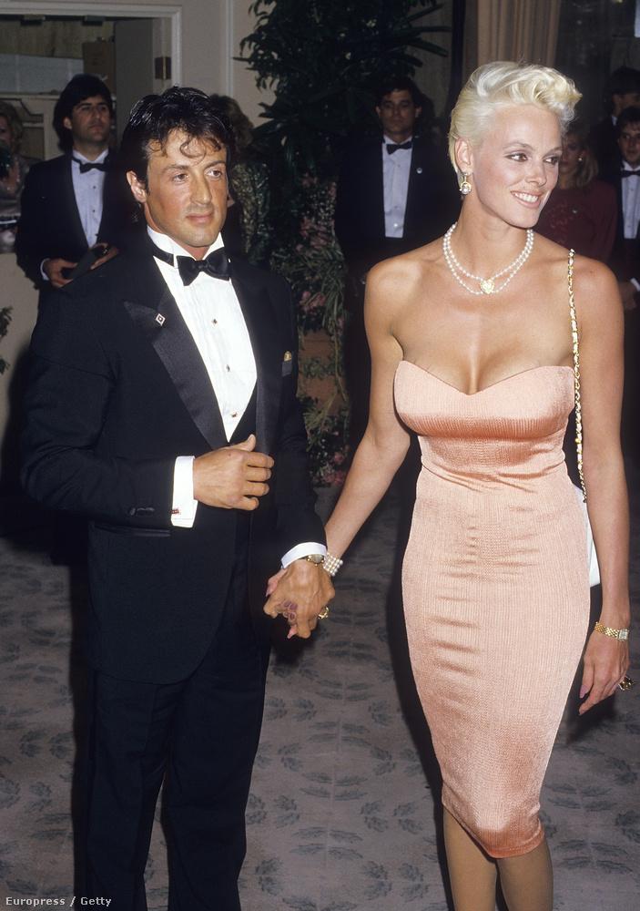 Ott van például Sylvester Stallone, aki a '80-as években a nyakigláb dán modell, Brigitte Nielsen férje volt