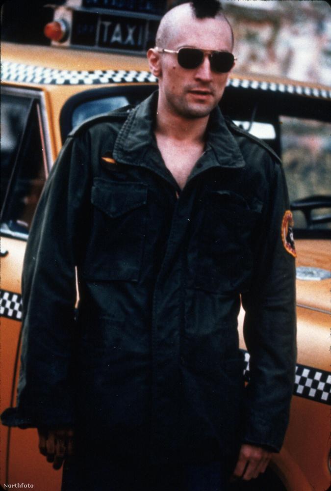 1976-ban mutatták be Martin Scorsese kultikus filmjét, a Taxisofőrt.