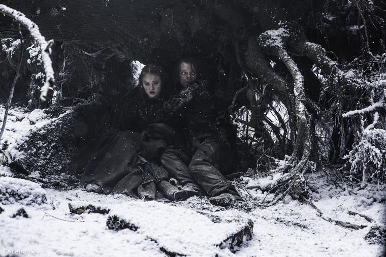 és gyökerek közt rejtőzködés Sansa és Bűzös közreműködésében.
