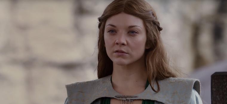 Itt pedig Margaery Tyrellt (Natalie Dormer) láthatjuk a második évadból.