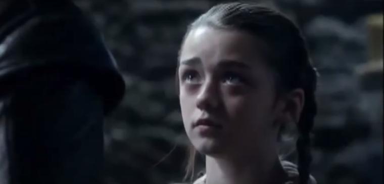 Így nézett ki a mindig harcias Arya Stark, még a Trónok harca legelején