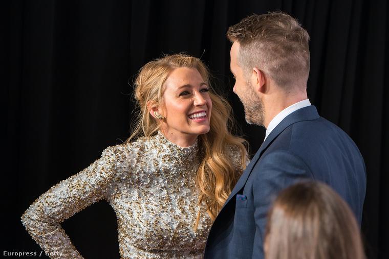 Persze gondolhattunk arra is, hogy nagyon örülnek, amiért a férj végre befutni látszik, egy óriási sikerű filmmel (Deadpool).