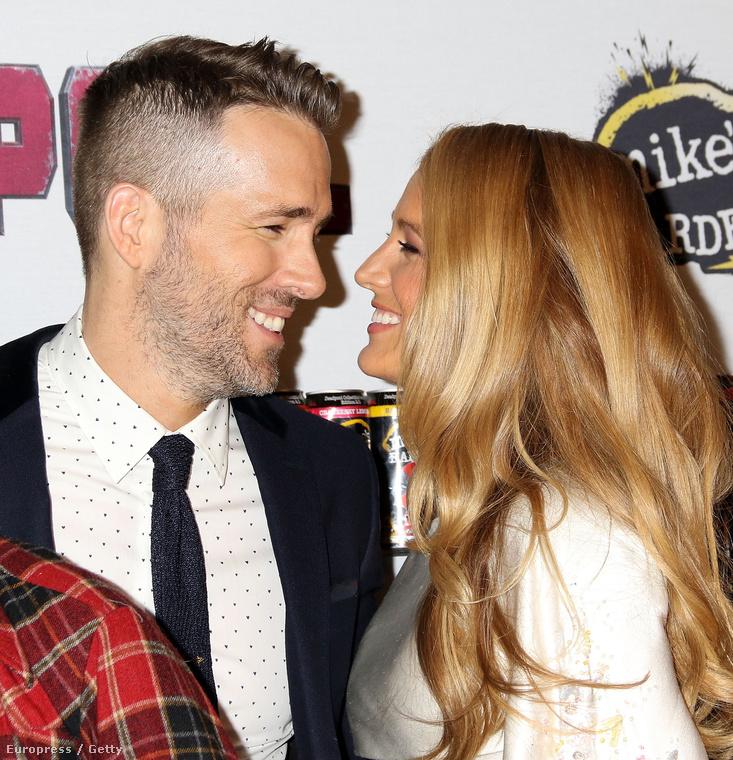 Amikor egy év után férjével, Ryan Reynoldsszel visszatértek a vörös szőnyegre, sugárzott róluk a harmónia,