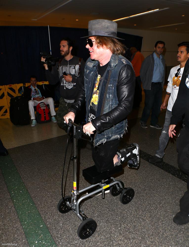 Rá is fér a pihenés, mert (legalább) átmenetileg az AC/DC-vel fog turnézni.