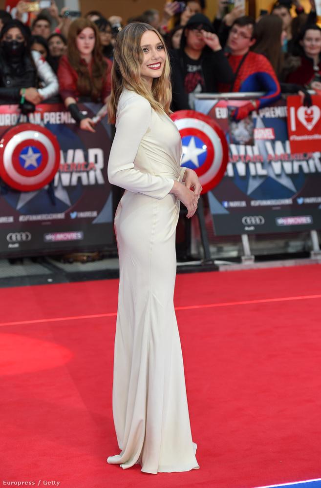 A szuperhős-akciófilmben Wanda Maximoffot alakítja