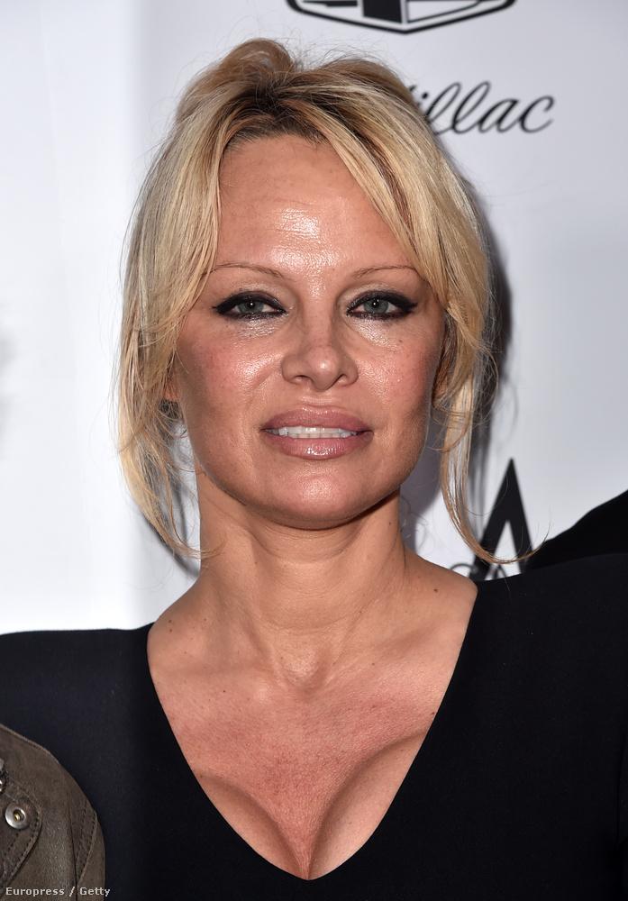 Pamela Anderson finoman szólva is máshogy néz már ki
